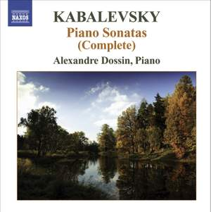Kabalevsky - Complete Piano Sonatas Product Image