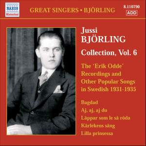 Jussi Björling Collection, Vol. 6 Product Image