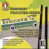 Proctor-Gregg: Sonatas for Horn, Violin & Clarinet & Westmoreland Sketches