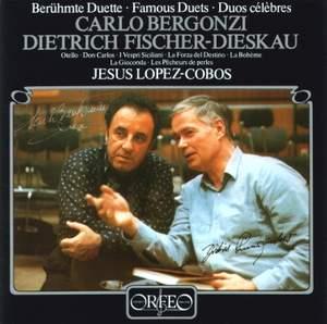 Carlo Bergonzi & Dietrich Fischer-Dieskau - Famous Duets Product Image