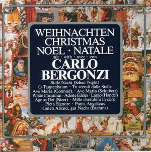 Christmas Songs With Carlo Bergonzi
