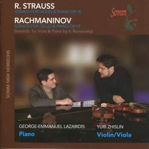 Strauss, R: Violin Sonata in E flat major, Op. 18, etc.