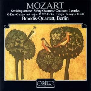 Mozart: String Quartet No. 14 in G major, K387 'Spring', etc.
