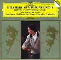 Brahms: Symphony No. 4, Variations on a theme by Haydn & Nänie