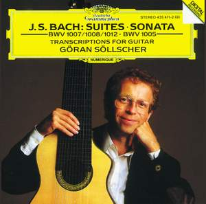 J S Bach - Transcriptions for Solo Guitar Product Image