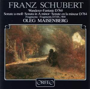 Schubert: Fantasie, Piano Sonata No, 14 & Two fragments for piano Product Image