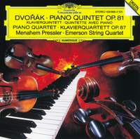 Dvorak: Piano Quintet & Piano Quartet No. 2