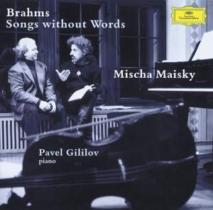Brahms - Songs with Words