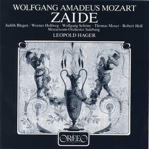 Mozart: Zaïde, K344 Product Image