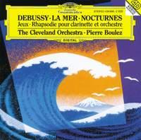 Debussy: La Mer, Nocturnes, Jeux & Rhapsodie for clarinet