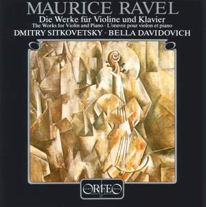 Ravel: Complete Works for Violin & Piano Product Image