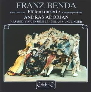 Benda, Franz: Flute Concerto in E minor, etc.