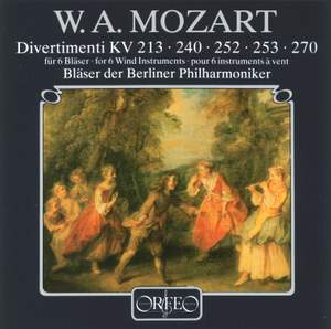 Mozart - Divertimenti for 6 Wind Instruments