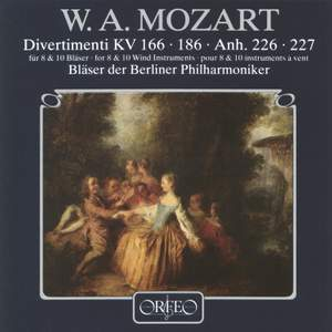 Mozart - Divertimenti for 8 & 10 Wind Instruments