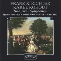 Franz Xaver Richter & Karl Kohaut: Symphonies