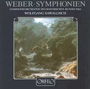 Weber: Symphonies Nos. 1 & 2