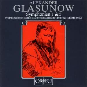 Glazunov: Symphonies Nos. 1 & 5