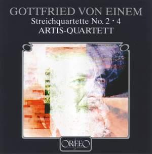 Gottfried von Einem: String Quartets Nos. 2 & 4 Product Image