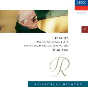 Brahms: Piano Soantas Nos. 1 & 2