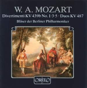 Mozart: Wind Divertimenti & Duos