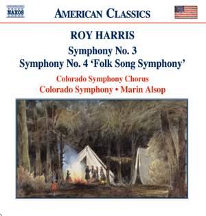 Harris: Symphonies Nos. 3 & 4