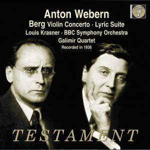Berg: Violin Concerto & Lyric Suite