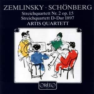 Zemlinsky: String Quartet No. 2 & Schoenberg: String Quartet in D major Product Image