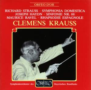 Strauss: Symphonia Domestica, Haydn: Symphony No. 88