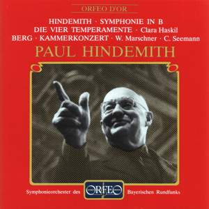 Hindemith: Symphony for Concert Band, Berg: Chamber Concerto Product Image