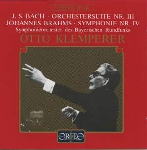 Bach: Orchestral Suite No. 3 & Brahms: Symphony No. 4 Product Image