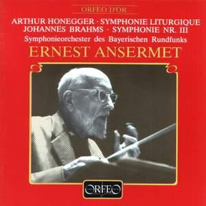 Honegger: Symphony No. 3 & Brahms: Symphony No. 3