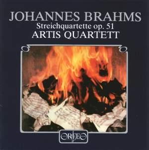 Brahms: String Quartets Nos. 1 & 2 Product Image