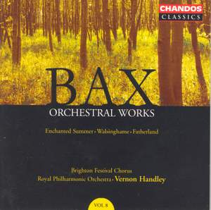 Bax - Orchestral Works Volume 8 Product Image
