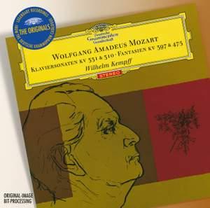 Wilhelm Kempff plays Mozart Product Image