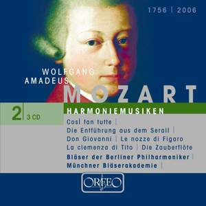 Mozart: Harmoniemusik, Volume 2