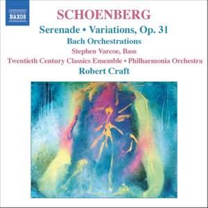 Schoenberg: Serenade, Op. 24, etc.