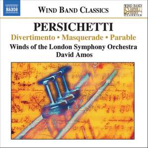 Persichetti: Divertimento, Masquerade, Parable and other orchestral works
