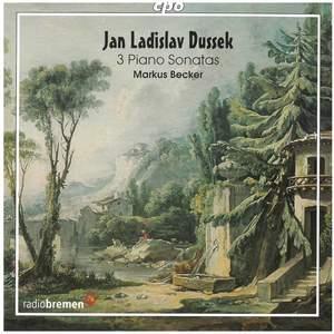 Dussek - 3 Piano Sonatas