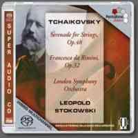 Tchaikovsky: Serenade for strings & Francesca da Rimini