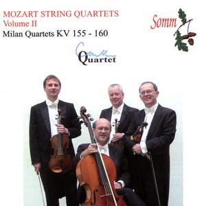 Mozart - String Quartets Volume 2 ('The Milan Quartets')