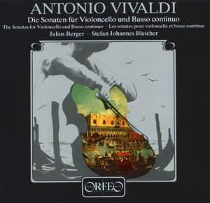Vivaldi: Cello Sonatas Nos. 1-9, RV39-47