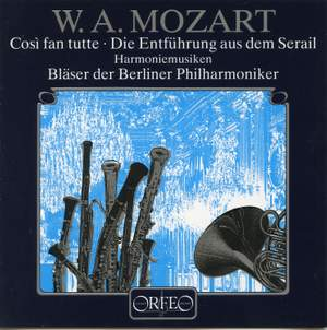 Mozart: Cosi fan tutte & Die Entführung aus dem Serail, arr. wind ensemble