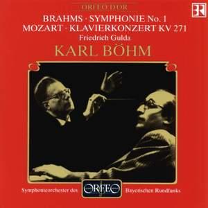 Mozart: Piano Concerto No. 9 & Brahms: Symphony No. 1 Product Image