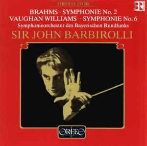 Brahms: Symphony No. 2 & Vaughan Williams: Symphony No. 6