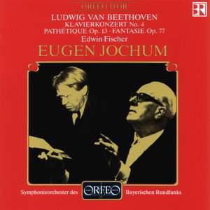 Beethoven: Piano Concerto No. 4, Piano Sonata No. 8 & Fantasia