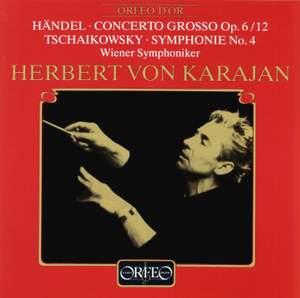 Handel: Concerto grosso & Tchaikovsky: Symphony No. 4