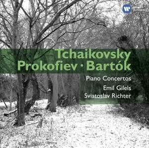 Tchaikovsky, Prokofiev & Bartók: Piano Concertos Product Image