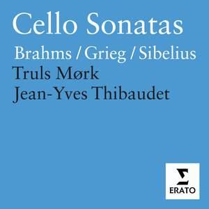 Brahms, Sibelius & Grieg - Cello Sonatas