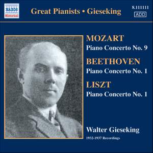Great Pianists - Walter Gieseking