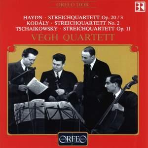 Haydn: String Quartet, Op. 20 No. 3 in G minor, etc.